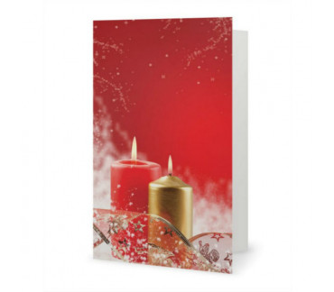 The sweetness of the holiday season card