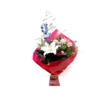 Fresh flowers bouquet