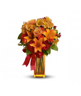 The Orange Explosion bouquet