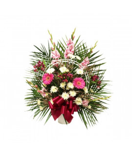 The Femininity Funeral Basket