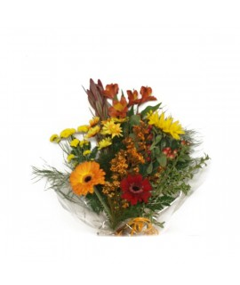 The bright colors bouquet