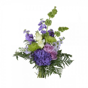 A purple touch bouquet