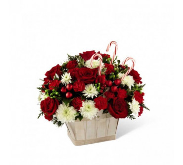 The FTD Candy Cane Lane Bouquet