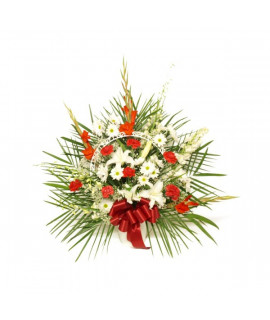 The Red Elegance Basket
